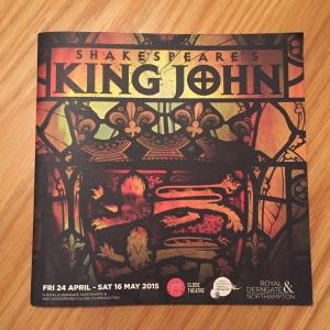 King John programme