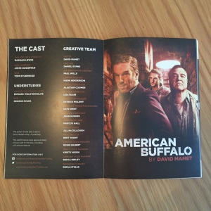 American Buffalo cast and creative team